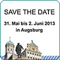 Save the date - Augsburg 2013